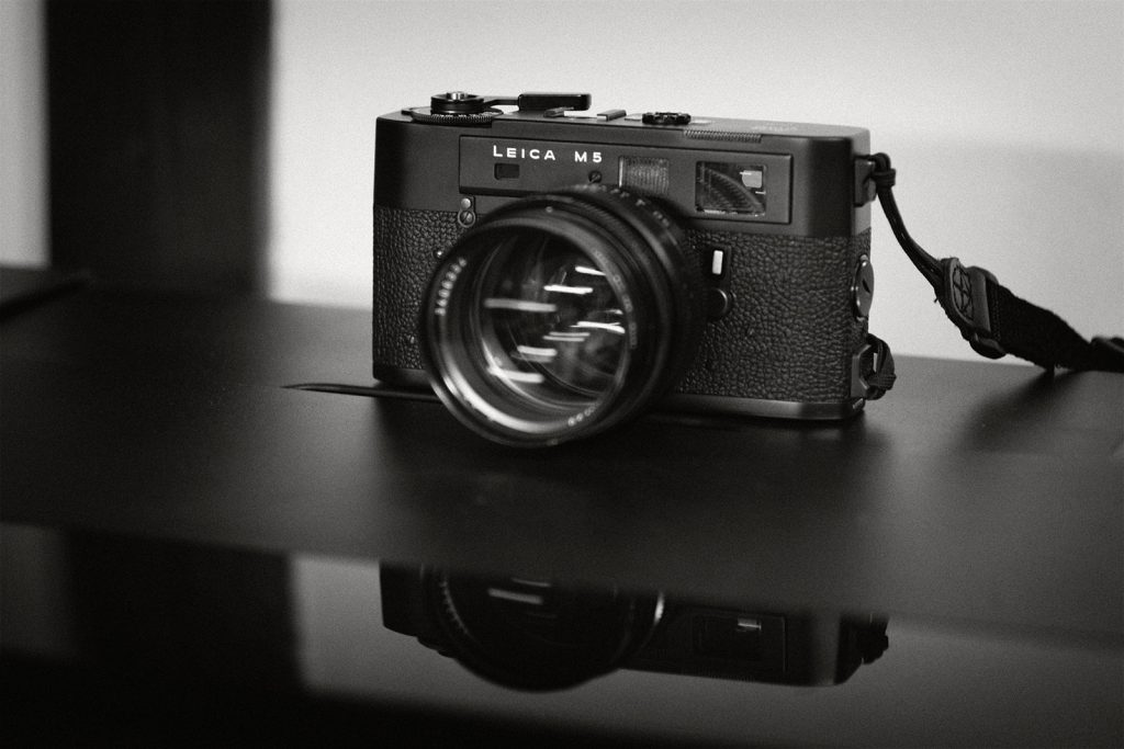 LEICA M5 with NOCTILUX f1.0